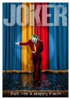 2010's Movie - JOKER Stage Show - canvas print - self adhesive poster - photo print